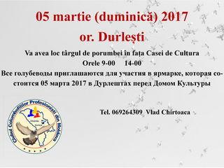 05 martie 2017 Durlesti