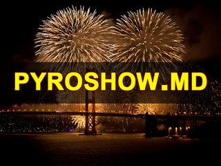 Artificii fumigene  pyroshow   фейерверки салюты пиротехника Chisinau