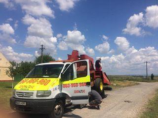 Evacuator in Chisinau, Moldova: Evacuator24/24