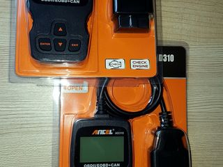 OBD Scanner profesional AD 610 ABS,SRS, SAS , OBD 2 pentru toate tipurile de autoturisme