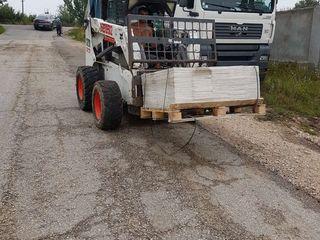 Вывоз строителъного мусора.Servicii bobcat