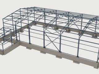 Proiectarea depozitelor, clădirilor industriale și agricole