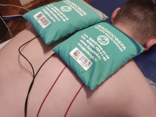 Terapie manuala,masaj,амплипульс,tractia coloanei pe pat medical,electroforez,150 min,stagiu