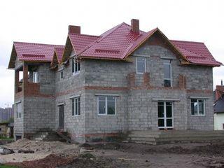 Теплый дом из пеноблоков, всегда в наличии любой объём