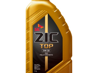 Моторное масло ZIC Top 5W-30 1 л синтетическое