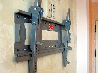 Крепление для монтажа телевизора на стену. Монтаж.