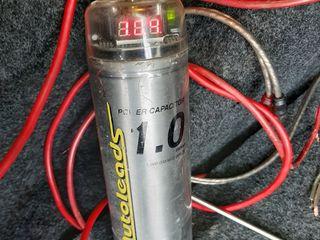 Накопитель 1F original с вольтметром 600 лей