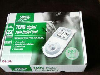 Aparat pentru electrostimulare musculară Beurer Tens Pain Relief aparat calmarea durerilor!