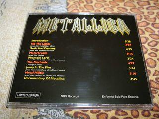Продам редкий CD Metallica Bay Area trashers Limited Edition