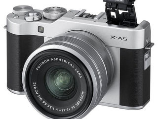Fujifilm X-A5 XC 15-45mm F3.5-5.6 OIS PZ Silver - по Лучшей Цене
