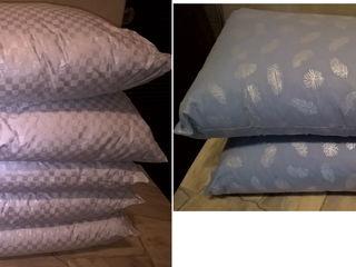 Подушки пухо-перьевые 30х50,30х60 см, подушки диванные или для авто
