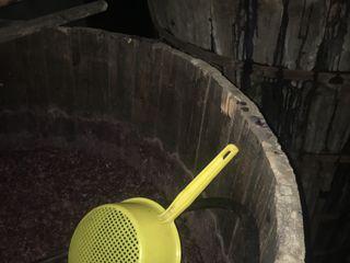 Vin roșu de casa curat 100%