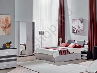 Dormitor Ambianta Fenix (Gri) la preț redus în Moldova