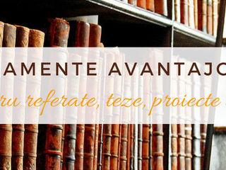 Arhiva cu peste 5000 de teze, proiecte, referate si alte lucrari stiintifice!