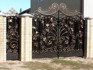 Porți metalice in daor 7 Zile  !!! Construcții metalice din fier forjat !!! (16)
