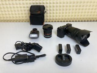 Продам Sony a6300 full + Sony 18-105mm F4  + Samyang 12mm