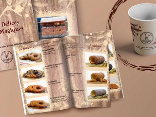 Дизайн меню для кафе, баров и ресторанов!