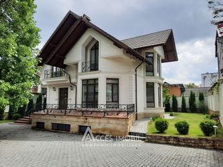 Chirie! str. Bulgară, UltraCentru, Casă în 2 niveluri, 350m2 + 7 ari! Euroreparație!