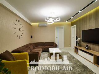 Gh. Cașu! 3 camere + living de Lux , 90 mp ! Design individual!