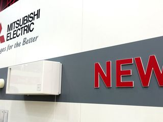 Настенная приточно-вытяжная вентиляционная установка с рекуператором Mitsubishi Electric Lossnay