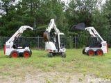 Excavator mini. Bobcat.