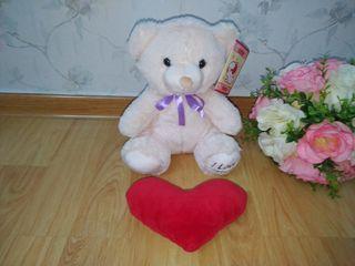 "Ursul ""I love you"" de plus 28 cm. Nou."