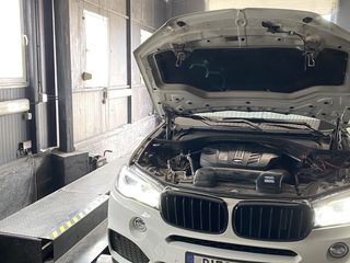 Чиптюнинг  BMW X5 f15 25d замеры мощности и разгона by Dieselok