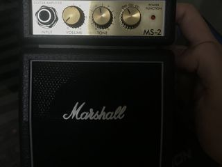 MARSHALL MINI AMP original, stare nouă