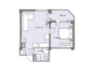 Apartament cu 2 odai Botanica