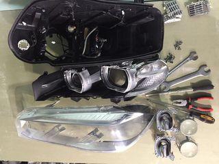 Curatarea interioara si exterioara si reparatie faruri-stopuri(Полировка и ремонт оптики).