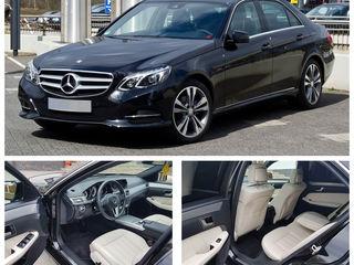 VIP Mercedes-Benz E-Class cu șofer. Nunți/delegații etc