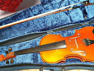 Скрипка 3/4 Vioara=1870 lei Скрипка GDR Eberhard Meinel violin 3/4 set Vioara calitativă!!!
