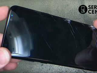 Samsung Galaxy A8+ (SM-A730FZVDSEK) Стекло разбил, пришел, заменил!