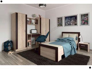 Кровать 80х200 Дуб (ламельное основание) - Доставка + Кредит 0%!