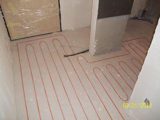 Тёплый пол под плитку сразу в плиточный клей из Южной Кореи