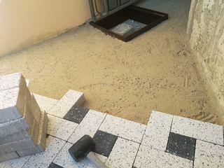 Укладка,тротуарная плитка
