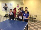 Объявляется набор детей на Настольный теннис!
