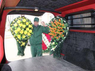 Servicii funerare cu livare in Ungheni