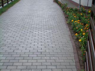 Aranjarea pavajului  укладка тротуарной плитки