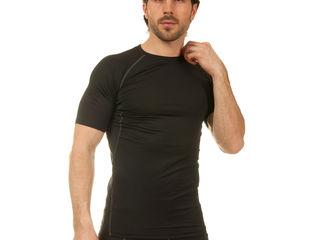 Компрессионная мужская футболка с коротким рукавом LD