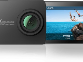 Noua originala Xiaomi Yi 4k action camera 2 retina screen Ambarella a9se75 sport cam