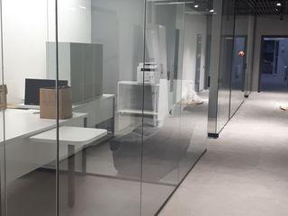Pereți și uși din sticlă securizată / перегородки и двери из безопасного стекла