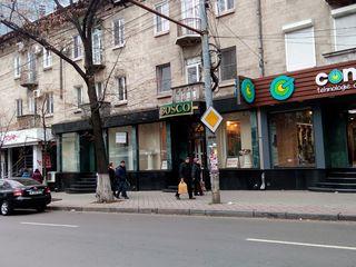 Spațiu comercial pe str. Pușkin, vis a vis de Catedrală, 83 mp.