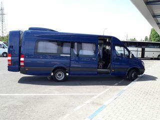 Mercedes cu ruta internationa