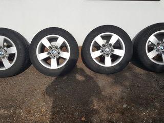 Колёса BMW Dunlop SP '16, диски + шины. Roți BMW.