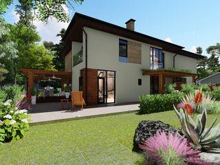 Есть проект, на постройку 2-х этажного дома, прекрасное место для коммерческой площадки + дом