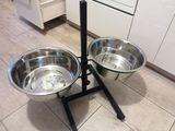 Регулируемые стойки с мисками для собак с Бесплатной доставкой на дом