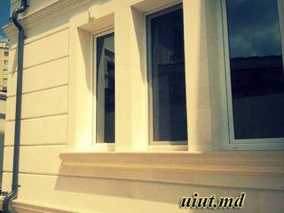 Фасадные работы, отделка стен, отделка дома, отделочные работы,под белый камень,Instalarea fațadelor