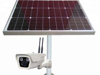 Нету света? Не беда. Видеонаблюдение на солнечных батареях. - 4 камеры по 2МП  Всего за 550е !!!
