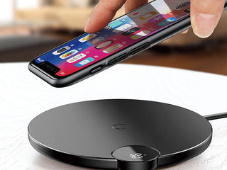 Baseus Qi Wireless Fast 10W Charger Charging Pad Mat for Samsung  iPhone